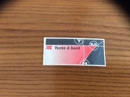 """Ticket De Transport (Bus, Métro, Tramway) TCL """"vente à Bord"""" LYON (69) - Bus"""