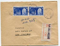 SEINE De LA COURNEUVE  Env. Recom. De 1950 Avec Dateur A 6 - Marcophilie (Lettres)