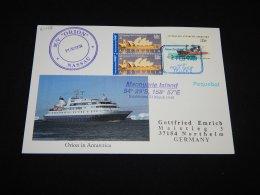 Australian Antarctic Territory 2009 MV Orion Paquebot Card__(L-21478) - Territoire Antarctique Australien (AAT)