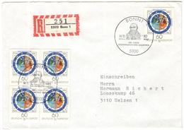 GERMANIA - GERMANY - Deutschland - ALLEMAGNE - 1982 - 400 Jahre Gregorianischer Kalender - FDC - Bonn - Einschreiben - R - [7] Repubblica Federale
