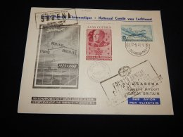 Belgium 1948 Sabena First Flight To UK With Vignette__(L-20292) - Belgien