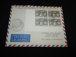 Belgium 1958 Bruxelles Air Mail Cover To Tokyo Via Paris__(L-23754) - Luftpost