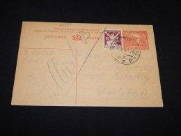 Czechoslovakia 1912 Stationery Card To Karlsbad__(L-23887) - Entiers Postaux