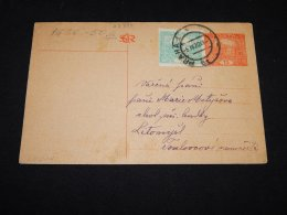 Czechoslovakia 1920 Praha Stationery Card To Litomysl__(L-23895) - Cartes Postales