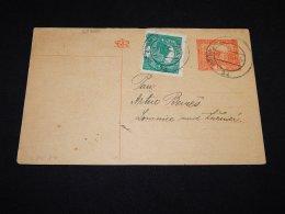 Czechoslovakia 1920 Pribram Stationery Card__(L-23890) - Cartes Postales