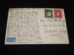 Czechoslovakia 1920's Parkan Stationery Card To Yugoslavia__(L-23921) - Postal Stationery