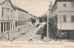 British Guiana  GEORGETOWN North Street Fault    Bg319 - Postkaarten