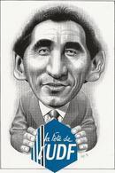 Illustrateur Bernard Veyri Caricature Francois Bayrou A La Tete De L'UDF - Veyri, Bernard