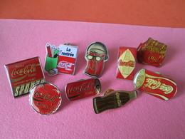 PIN'S    Lot  9   Coca Cola - Coca-Cola