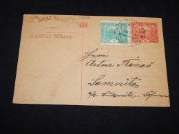 Czechoslovakia 1922 Zlabings Stationery Card To Lomnitz__(L-23896) - Cartes Postales