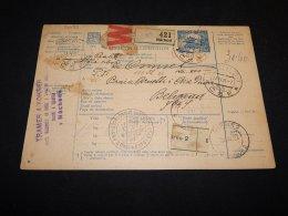 Czechoslovakia 1923 Nachod Parcel Card__(L-24073) - Tchécoslovaquie