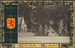 Entrance, Pittencrief Glen, Dunfermline, Fife, C.1910 - Davidson Postcard - Fife
