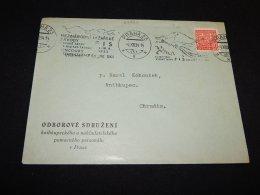 Czechoslovakia 1934 Praha Slogan Cancellation Cover__(L-23824) - Briefe U. Dokumente