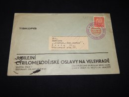 Czechoslovakia 1936 Velehrad Business Cover__(L-23798) - Czechoslovakia