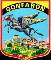 Var, Gonfaron, Autocollant Ane Vollant     (bon Etat) - Old Paper