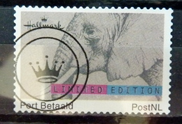 Netherlands Port Betaald,Hallmark,elephant,olifant Used/gebruikt/oblitere - Nederland