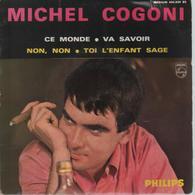 Disque 45 Tours MICHEL COGONI - 1964 - Disco & Pop