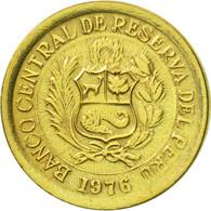 Monnaie, Pérou, 1/2 Sol, 1976, Lima, TTB+, Laiton, KM:265 - Pérou