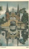 Sneek 1949; Waterpoort In Spiegelbeeld - Gelopen. (Twente - Hengelo) - Sneek