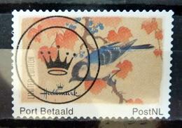 Netherlands Port Betaald,Hallmark,birds,oiseaux,vögel Used/gebruikt/oblitere - Nederland