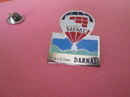 PIN'S    Darnal  Montgolfieres - Airships