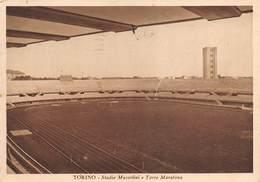 "08323 ""TORINO - STADIO MUSSOLINI E TORRE MARATONA"" ARCH. '900. CART  SPED 1939 - Stadiums & Sporting Infrastructures"