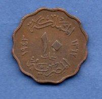 Egypte  --  10 /1000 Eme  1938  --    état  TTB - Egypte