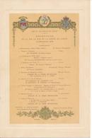 Programme, Hôtel De Ville De Paris, 1908 - Réception De LL.MM. Le Roi Et La Reine De Suède - Programma's