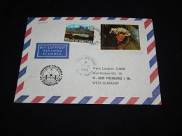 French Polynesia 1983 Tahiti Air Mail Cover To Germany__(L-20947) - Lettres & Documents