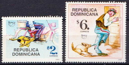 Republic Of Dominica MNH Pair - Post