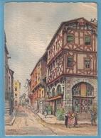 Carte Postale Illustrateur  Barré & Dayer  Montferand Maison De L'apothicaire 2056D Trés Beau Plan - Illustrateurs & Photographes