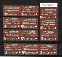 1942 ALTSOFFVERWERTUNG → Diverse Varianten - Suisse