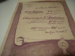 ANCIENNE PUBLICITE  VIN ETABLISSEMNTS  NICOLAS   1923 - Alcohols