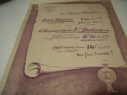 ANCIENNE PUBLICITE  VIN ETABLISSEMNTS  NICOLAS   1923 - Alcools