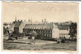 Soleilmont - Abbaye Cistercienne - Vue Nord-Ouest - 2 Scans - Fleurus