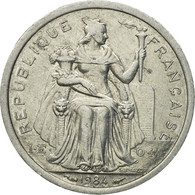 Monnaie, French Polynesia, Franc, 1984, Paris, TTB+, Aluminium, KM:11 - Polynésie Française