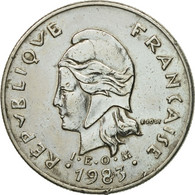 Monnaie, French Polynesia, 10 Francs, 1983, Paris, TTB+, Nickel, KM:8 - French Polynesia