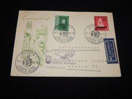 Germany (Democratic Republic) 1956 Leipziger Messe First Flight Cover__(L-20245) - [6] Democratic Republic