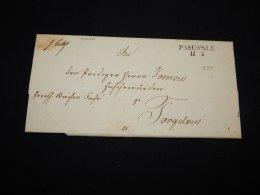 Germany 1840 Pasewalk Prephilately Letter__(L-20646) - Germany