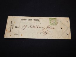Germany 1874 Berlin Muster Ohne Werth__(L-20638) - Germany