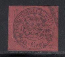 Etats Pontificaux 1867 Yvert 16 (o) B Oblitere(s) - Etats Pontificaux