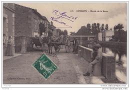 79) COULON (DEUS SÈVRES) BORDS DE LA SÈVRE   - (ANIMÉE - ATTELAGE CHEVAL) - France