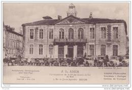 32) AUCH - AMBULANCE  DÉMÉNAGEMENTS J. L. ADER - CORRESPONDANT DE LA CIE DU CHEMIN DE FER - 3 , RUE DU QUATRE SEPTEMBRE - Auch