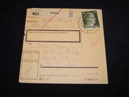 Germany 1944 Bleiberg Parcel Card__(L-21952) - Germany
