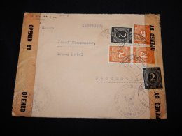 Germany Allied 1946 Weltenburg Censored Cover To Sweden__(L-19973) - Zone AAS