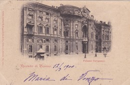 CARTOLINA - POSTCARD - TORINO - RICORDO DI TORINO - PALAZZO CARIGNANO - Palazzo Carignano