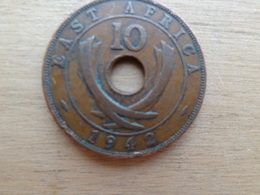 East Africa  10  Cents  1942   Km 26.2 - British Colony