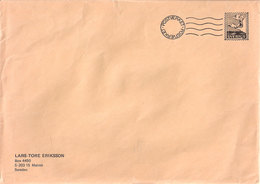 Sweden Cover With Imprinted Stamp Niels Holgersson On Swan, From Book Of Astrid Lindgren,   Cover - Svezia