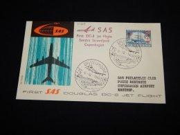 Greenland 1960 SAS First Flight Söndre-Copenhagen__(L-20209) - Covers & Documents