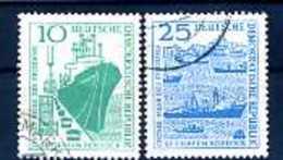 A14940)Schiffe: DDR 663 - 664 Gest. - Schiffe
